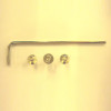IC Light Screw kit with allen key