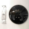 Skygarden S1 black ceiling rose assembly