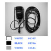 Mod 265 Grey reflector support with electrical cable assembly