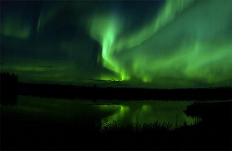 Natural Inspiration: Aurora Borealis