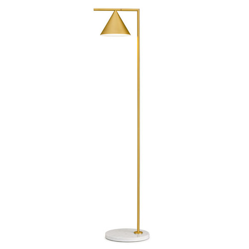 Merveilleux Captain Flint Gold Base Modern Floor Lamp