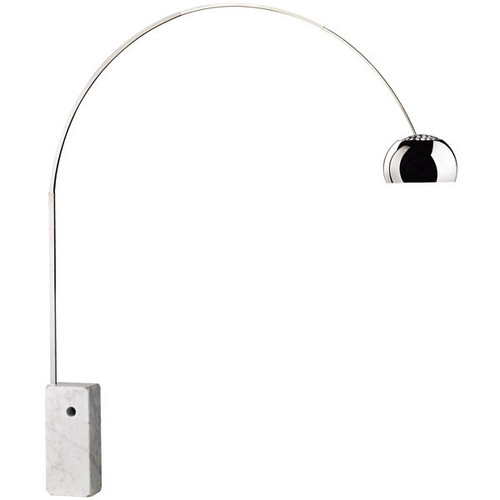 Arco floor lamp 1960s series by achille castiglioni flos usa arco floor lamp by achille castiglioni dining room lighting setup 1 mozeypictures Images