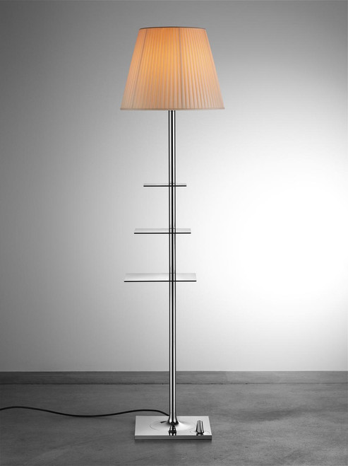 bibliotheque nationale modern floor lamp with shelves flos usa