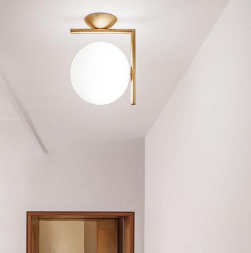 IC Lights CW Modern Sphere Wall & Ceiling Lamp by Michael