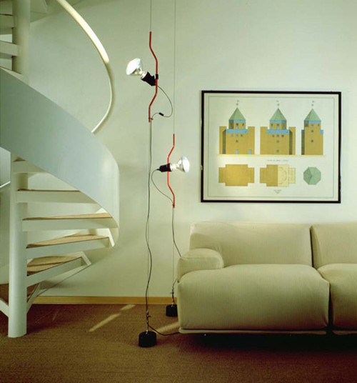 Parentesi Modern Pendant Light by Achille Castiglioni and Pio Manzu ...