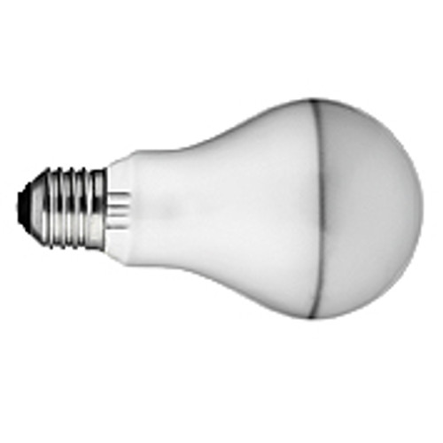 100W A-21 Medium Silvered Bulb Incandescent