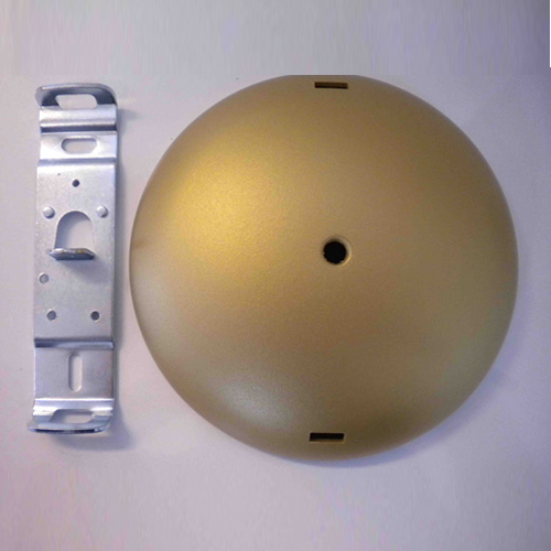 Skygarden S1 gold ceiling rose assembly