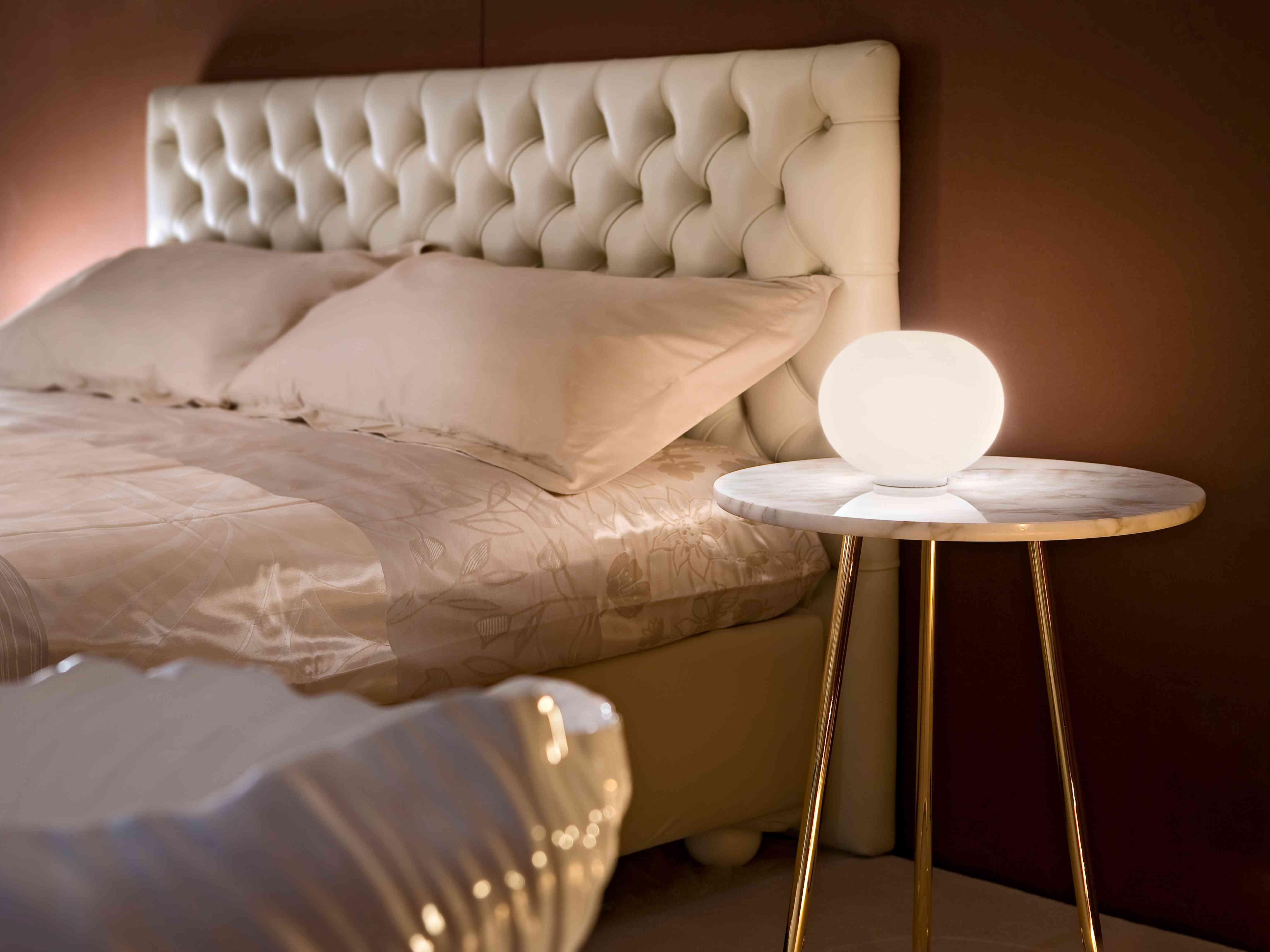 Glo-Ball Basic Modern Bedside Table Lamp