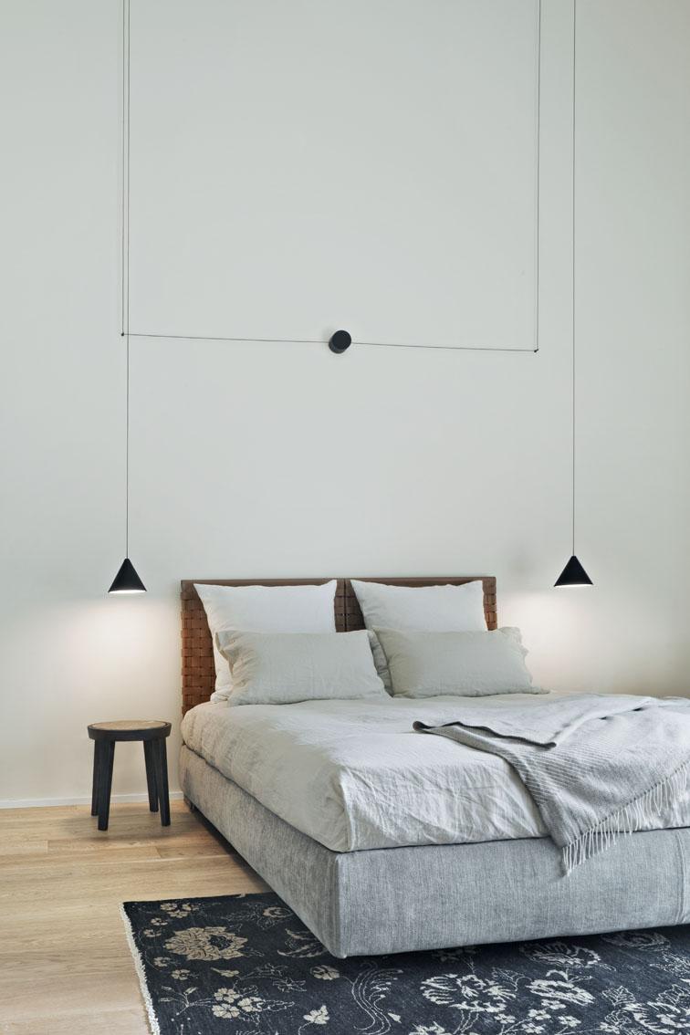 String Lights Cone Bedroom Pendant Lights