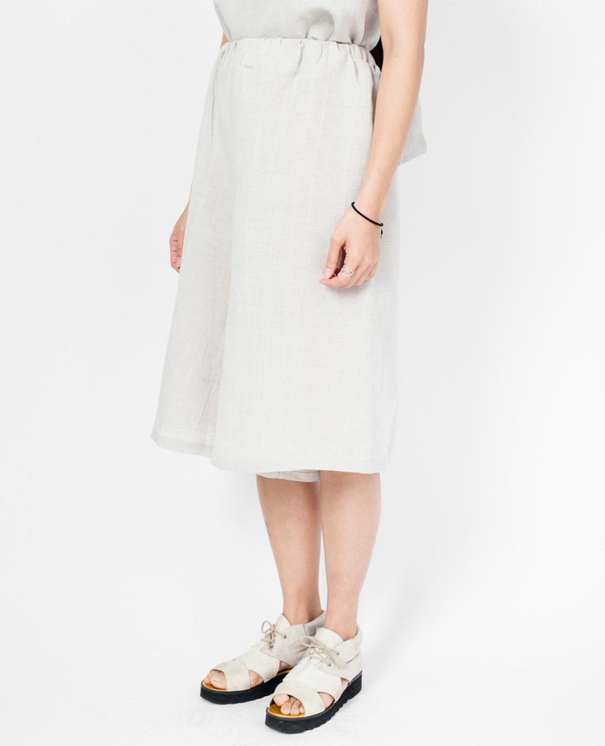 Loew Culottes - Natural Linen