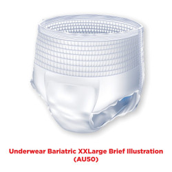 Attends Bariatric Pull-Up Underwear - Heavy
