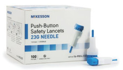 McKesson Safety Lancets 1.8 mm, 23 Gauge