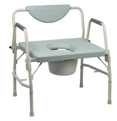 McKesson Drop Arm Commode Chair