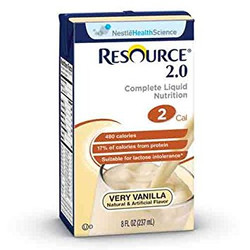 Resource 2.0 Oral Supplement, Very Vanilla