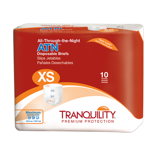 Tranquility ATN All-Thru-The-Night Diapers with Tabs