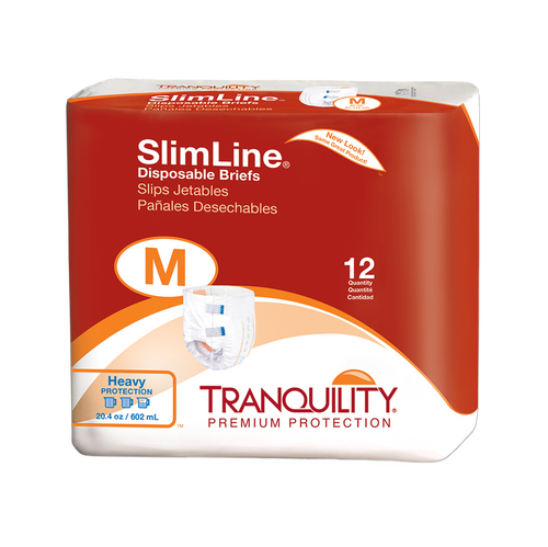 Tranquility SlimLine Diapers with Tabs - Heavy