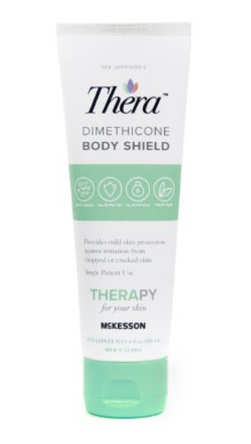 Thera Body Shield Skin Protectant Cream w/ 5% Dimethicone