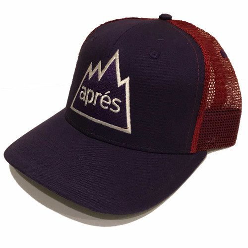 Women's outdoor DIVAS  Apres Hat in Purple