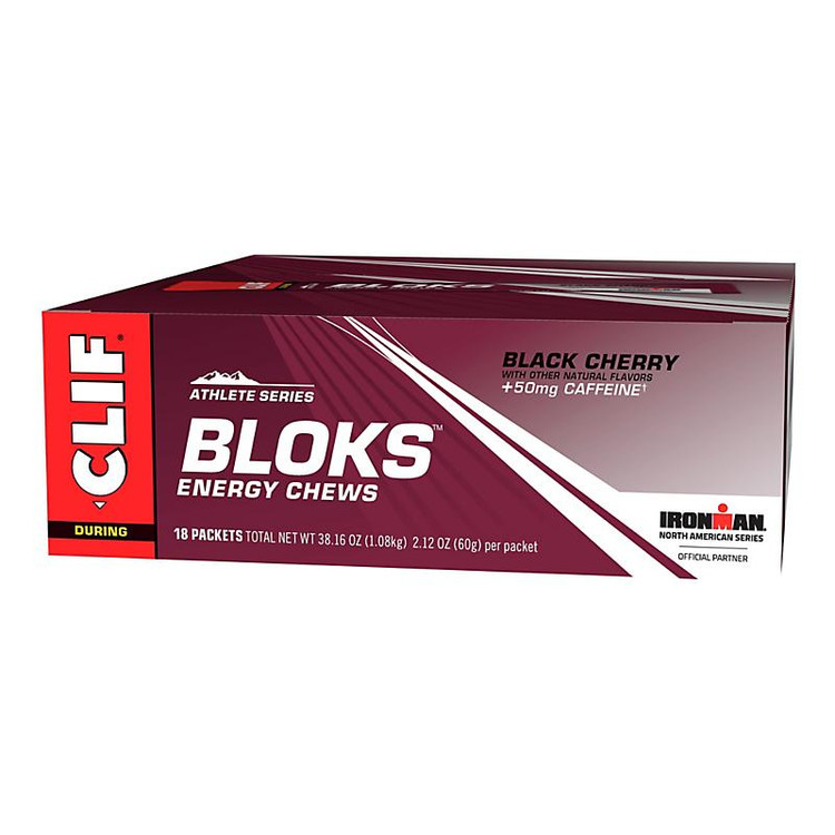 Clif Bloks 18 pack|flavor-Black Cherry