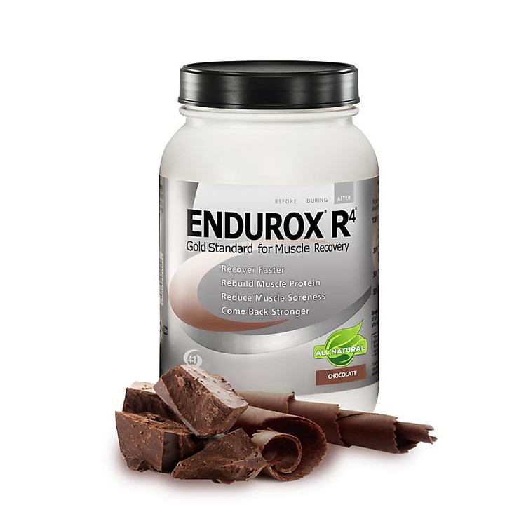 Pacific Health Labs Endurox R4 All Natural Muscle Recovery Drink 28 servings|flavor-Chocolate