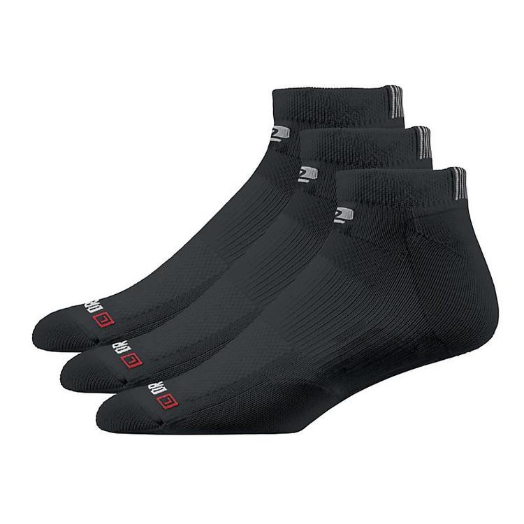 R-Gear Drymax Dry-As-A-Bone Thin Cushion Low 3 pack color-Black