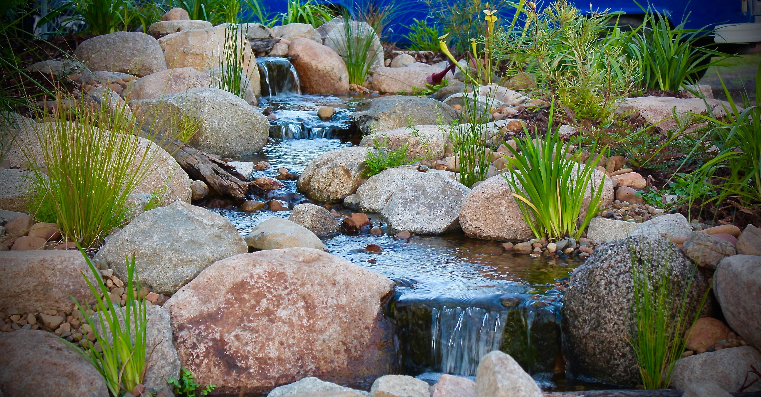Pondless Waterfalls Pondless Streams Aquascape Supplies Australia