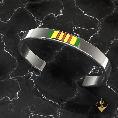 Vietnam Bracelet in Solid Sterling Silver
