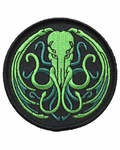 Cthulhu Weave embroidered patch