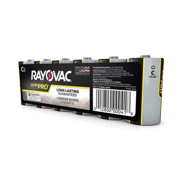 C Size Alkaline Batteries 6 Pack