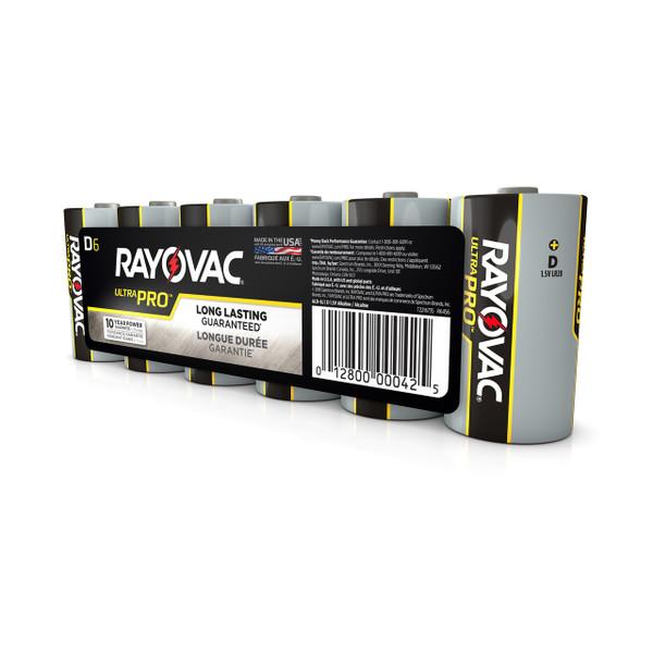 D Size Alkaline Battery 6 Pack
