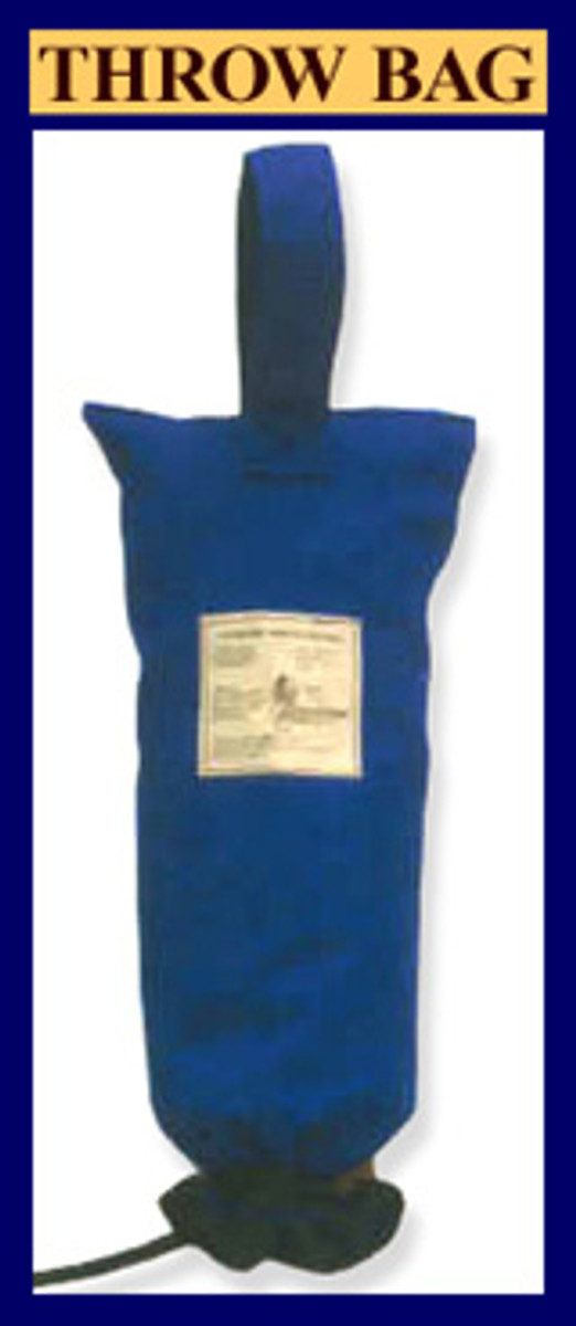 Taylortec Ring Buoy Bag with 90 ft of Rope
