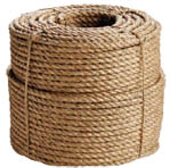 "3/8"" Manila Rope 600' Coil"