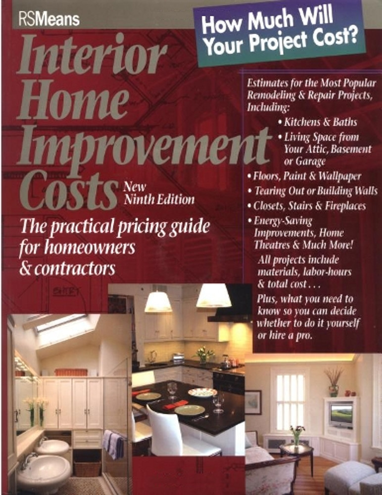 Interior Home Improvement Costs 9th Edition Rsmeans Co