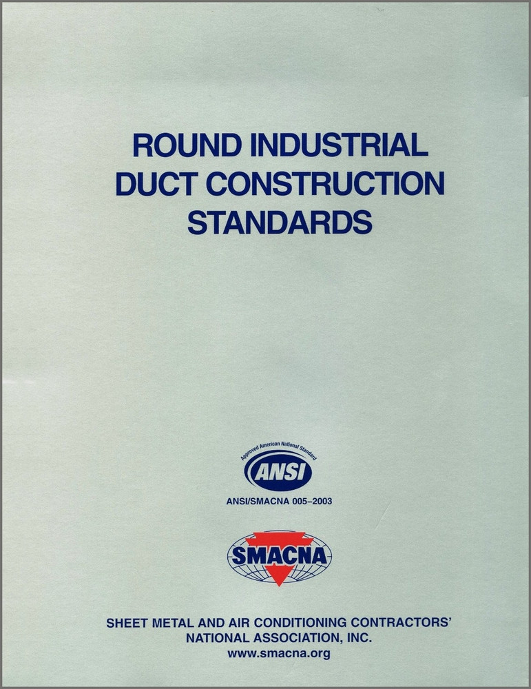 Round Industrial Duct Construction Standards Smacna 1520