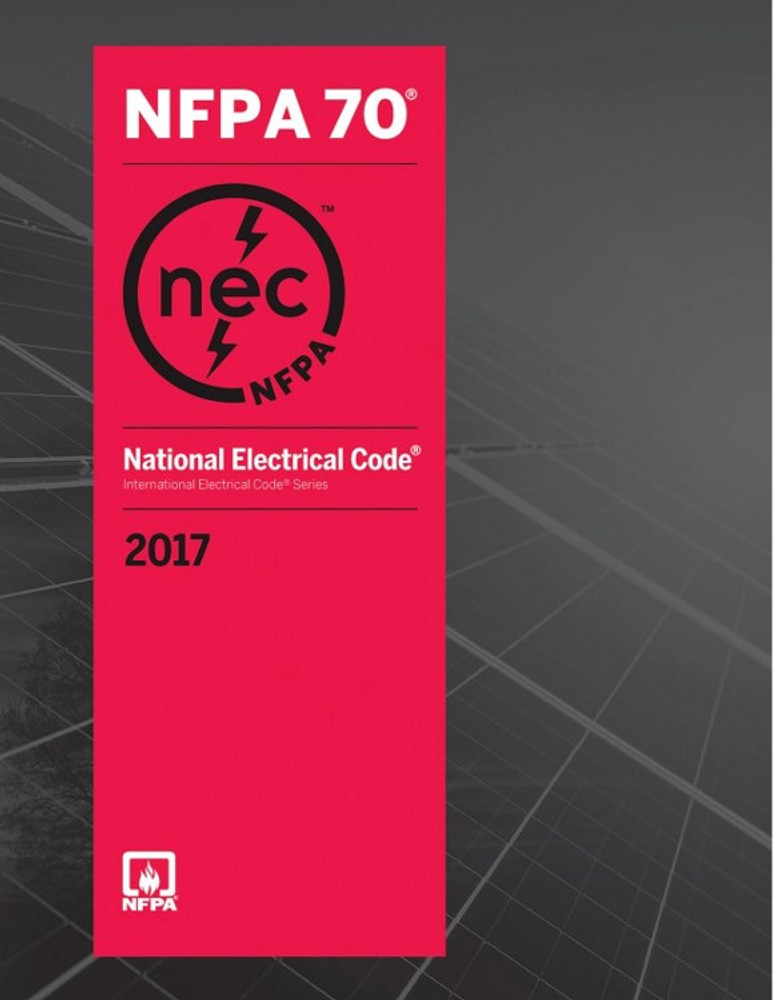 2017 National Electrical Code - ISBN#9781455912773