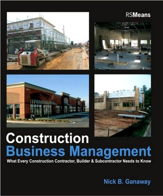 Construction Business Management - ISBN#9780876298251