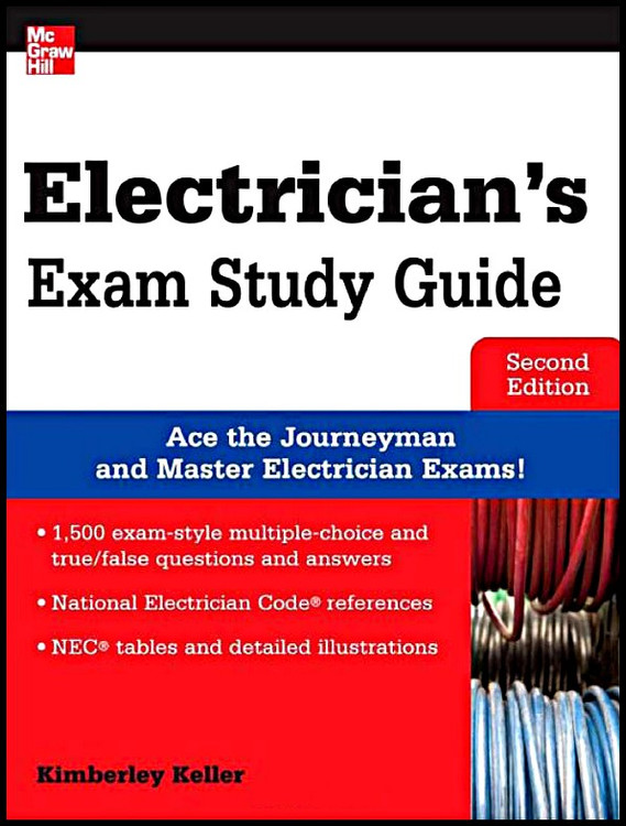 Electrician's Exam Study Guide 2nd Edition - ISBN#9780071792042