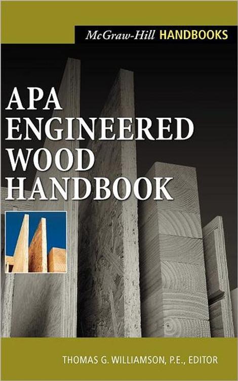 APA Engineered Wood Handbook - ISBN#9780071360296