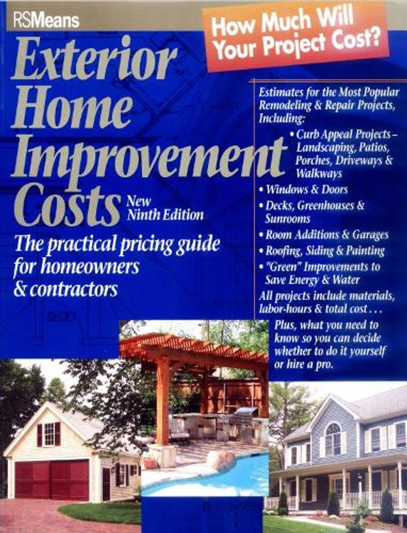Exterior Home Improvement Costs 9th Edition - ISBN#9780876297421