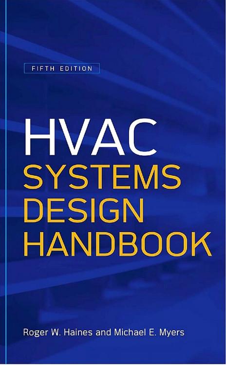 HVAC Systems Design Handbook 5th Edition - ISBN#9780071622974