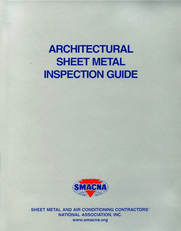 Architectural Sheet Metal Inspection Guide - ISBN#9781617210068