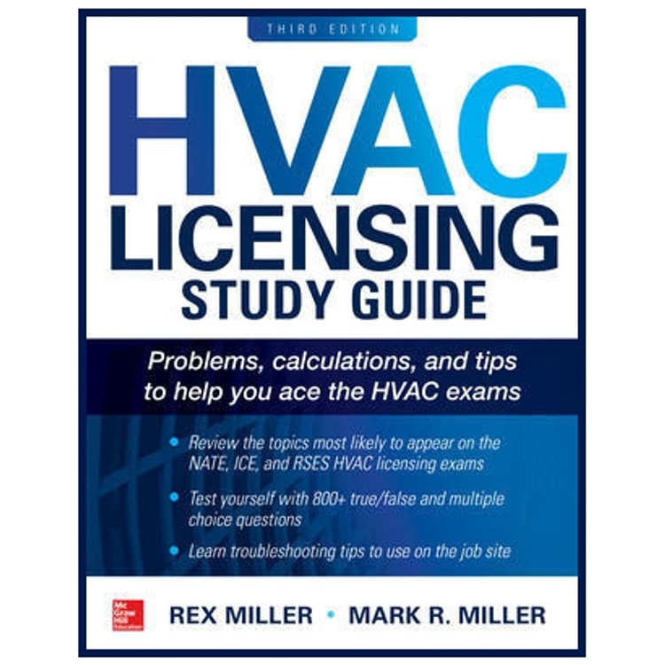 HVAC Licensing Study Guide 3rd Edition - ISBN#9781260116007