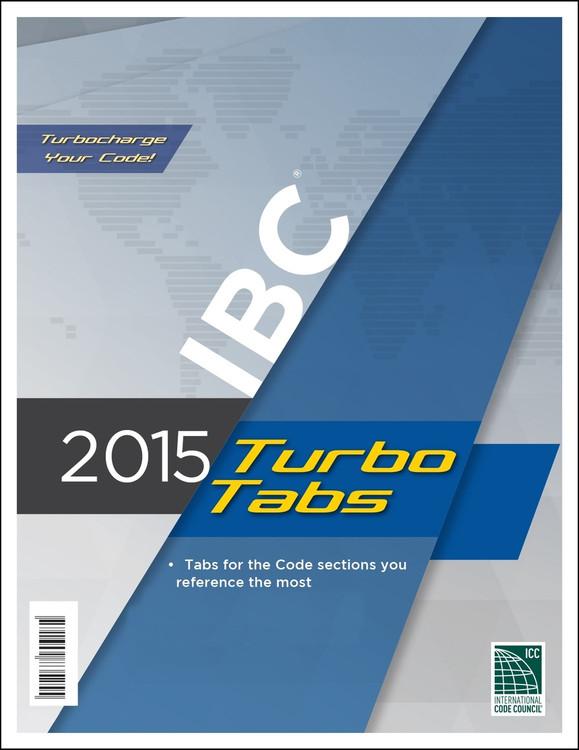 2015 IBC Turbo Tabs (Looseleaf) - ISBN#9781609835255