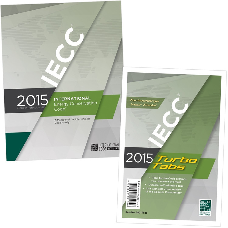 2015 International Energy Conservation Code & Tab Set