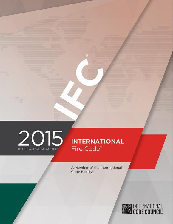 2015 International Fire Code - ISBN#9781609834746