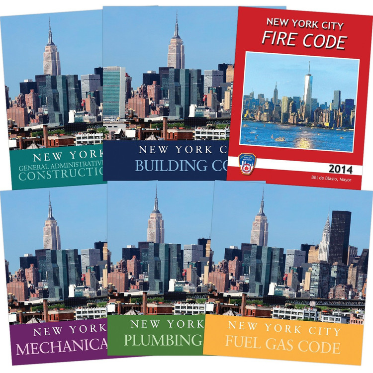 2014 New York City Codes - Complete Collection