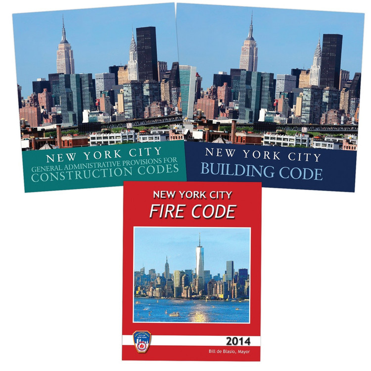 2014 New York City Administrative, Building and Fire Codes