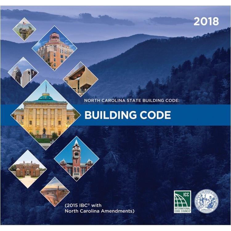 North Carolina State Building Code: Building Code 2018 - ISBN#9781609838225