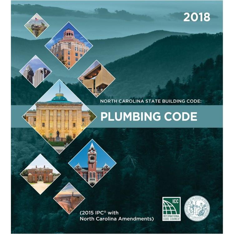 North Carolina State Building Code: Plumbing Code 2018 - ISBN#9781609838324