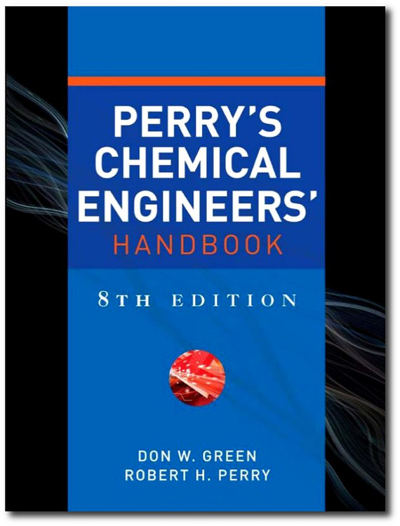 Perry's Chemical Engineers' Handbook 8th Edition - ISBN#9780071422949